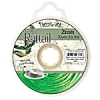 Rattail Cord 2mm 20 Yds With Re-useable Bobbin Grass Green